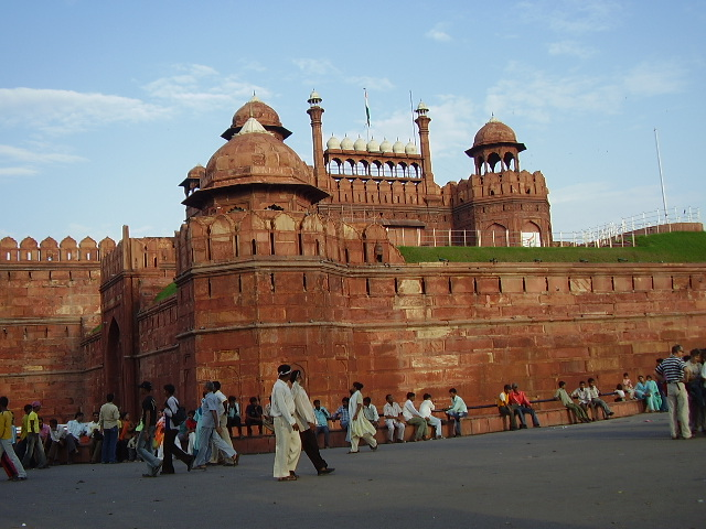 Magnificient Redfort in Delhi