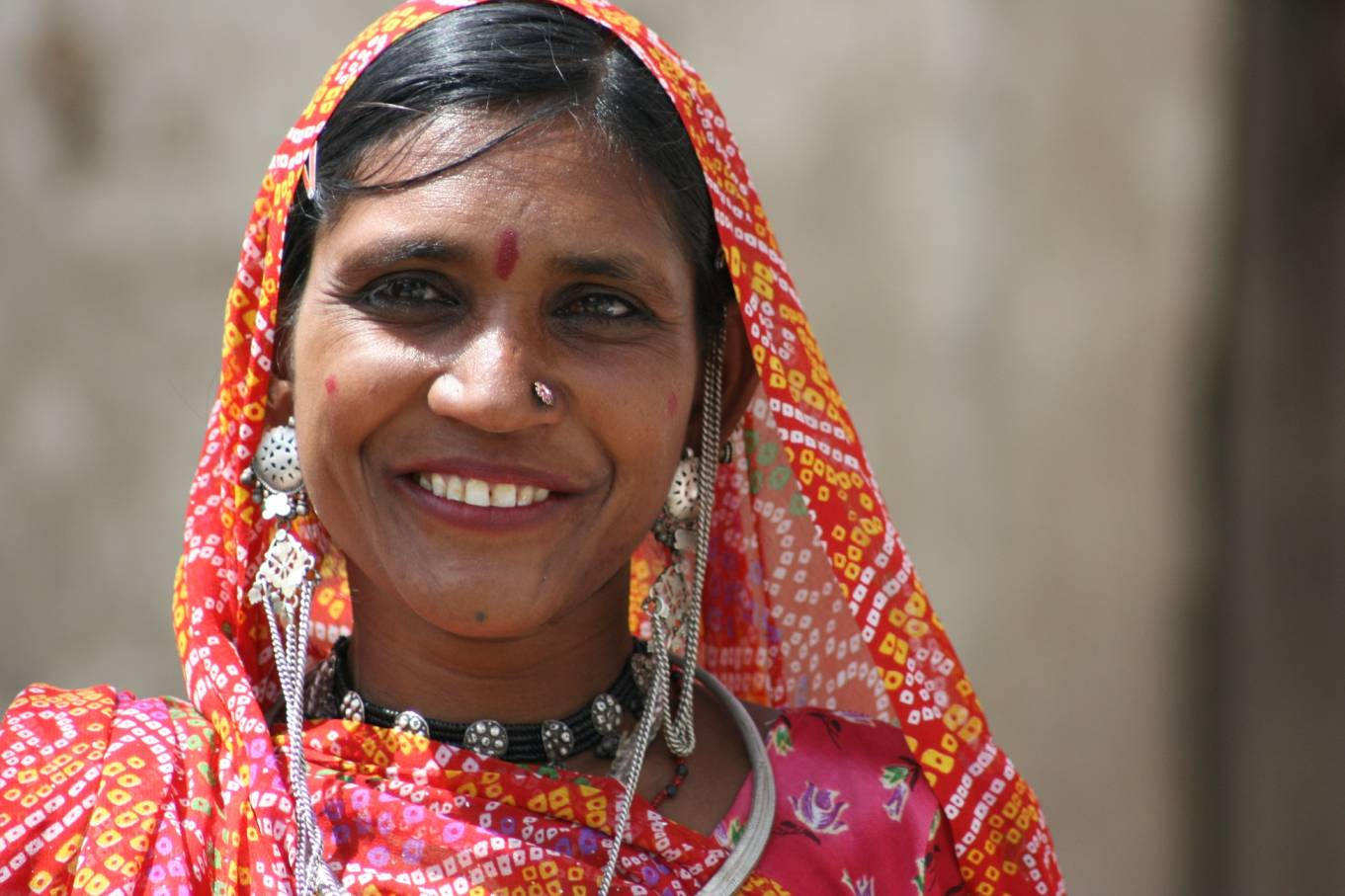 Typical Rajasthani Woman